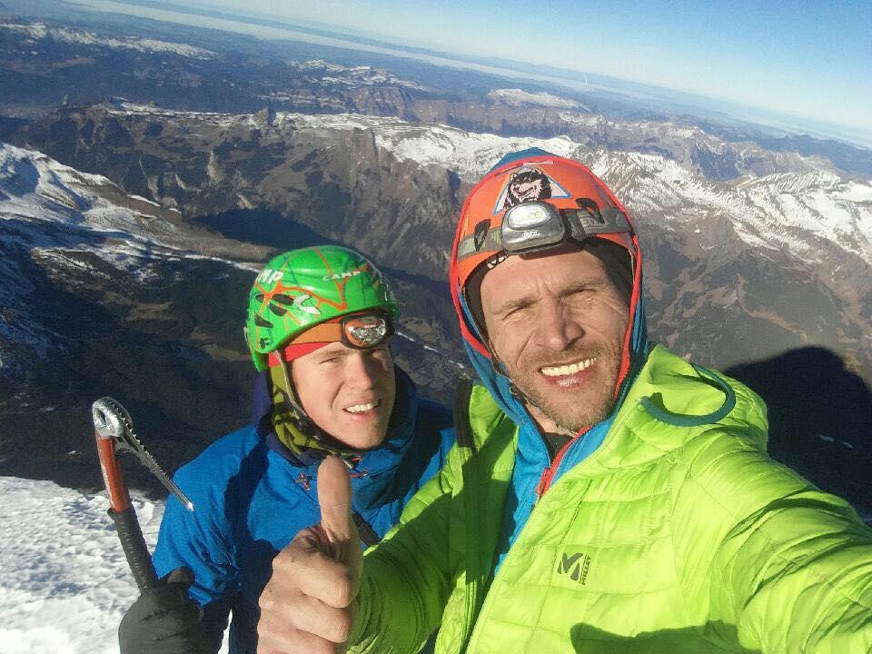 Photo of Nuova via sulla Nord dell'Eiger per Tom Ballard e Marcin Tomaszewski