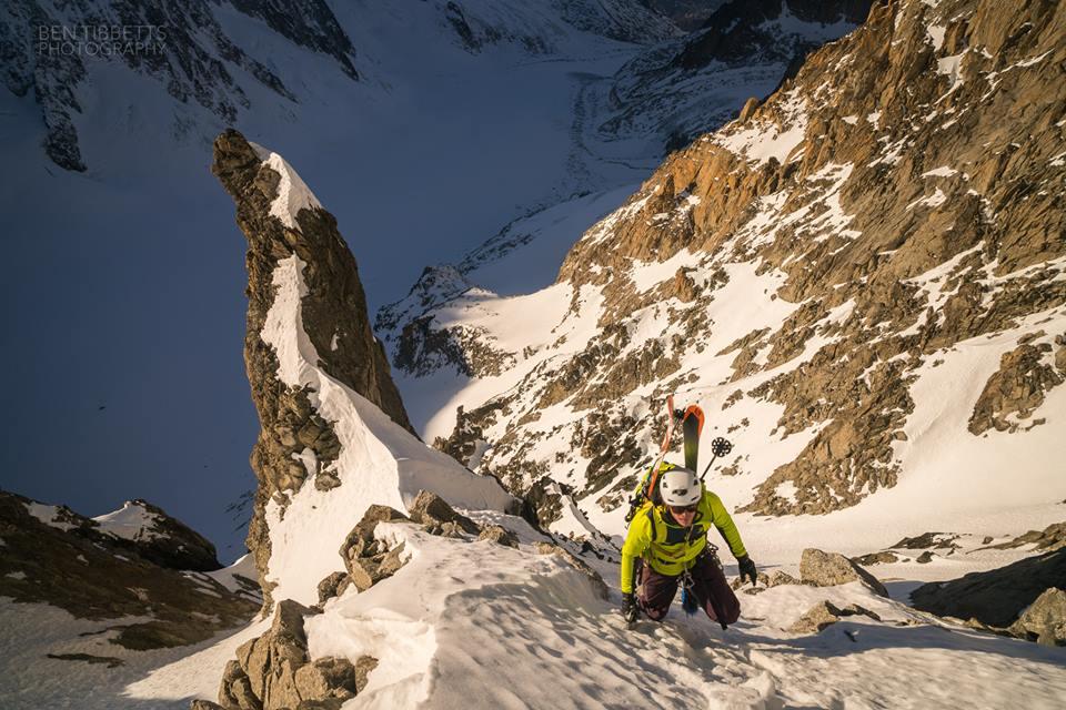 Photo of Fou de Fouly, nuova discesa di sci estremo sul Monte Bianco