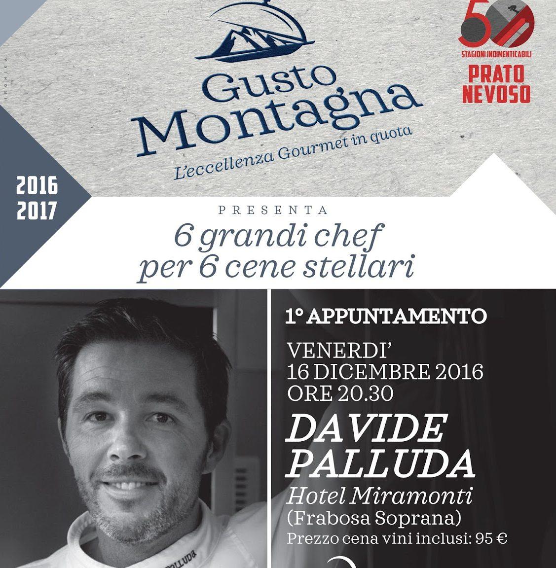 Photo of Domani parte Gusto Montagna a Prato Nevoso: ai fornelli lo chef stellato Davide Palluda