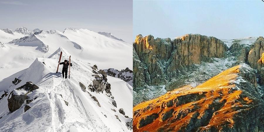 """Photo of """"Arsenio Lupin"""" della neve"""
