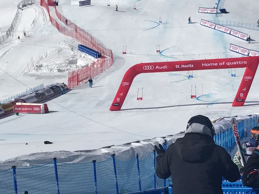 Photo of Aereo trancia cavo  ai mondiali di St.Moritz