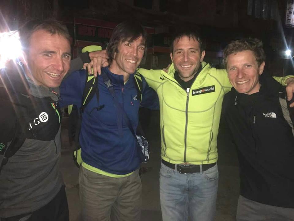Photo of Txicon riparte per l'Everest con gli auguri di Steck, Barmasse e Göttler