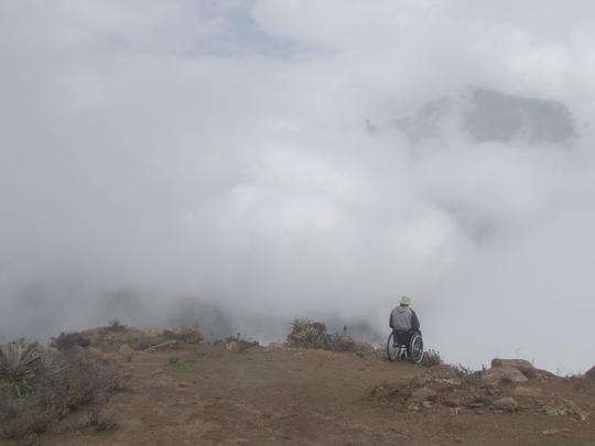 Photo of Sud America in sedia a rotelle, un viaggio attraverso montagne, jungla e paludi