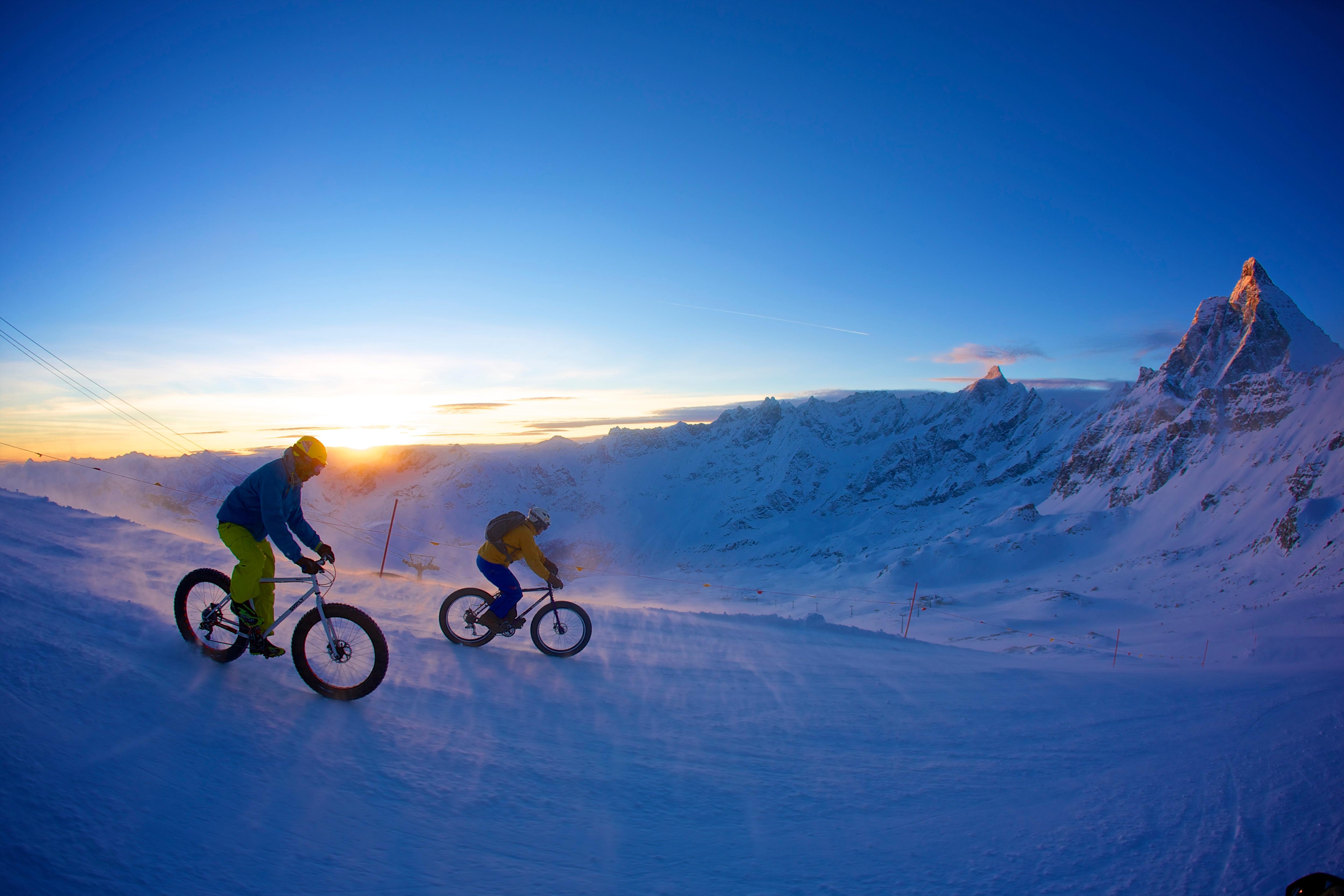 """Photo of A Breuil-Cervinia il 25 Febbraio il """"Primo raduno snow-bike del Cervino"""""""