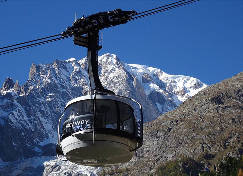 Photo of Un San Valentino ad alta quota sul Monte Bianco