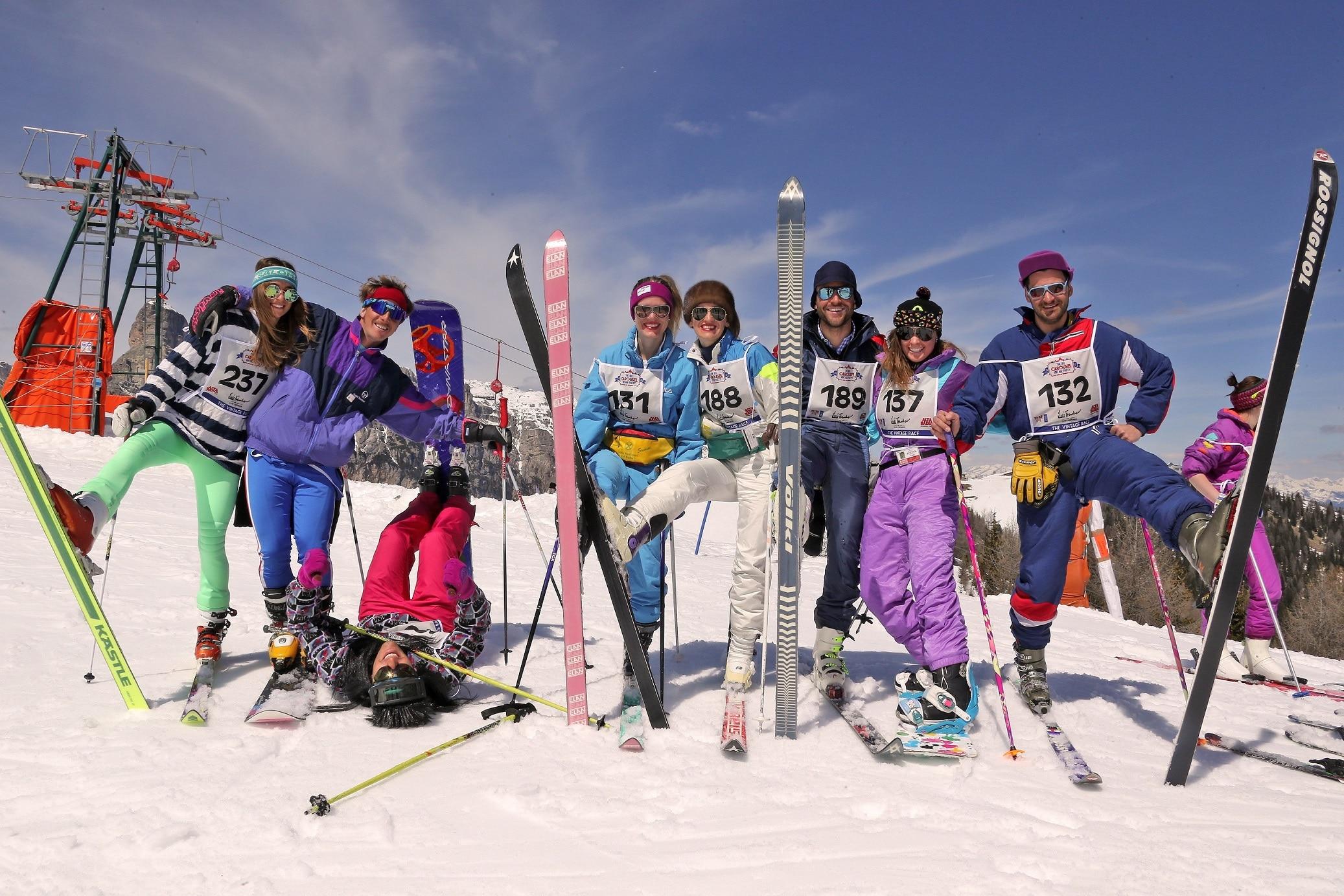 Photo of Alta badia: la stagione sciistica si chiude con un evento in stile rétro