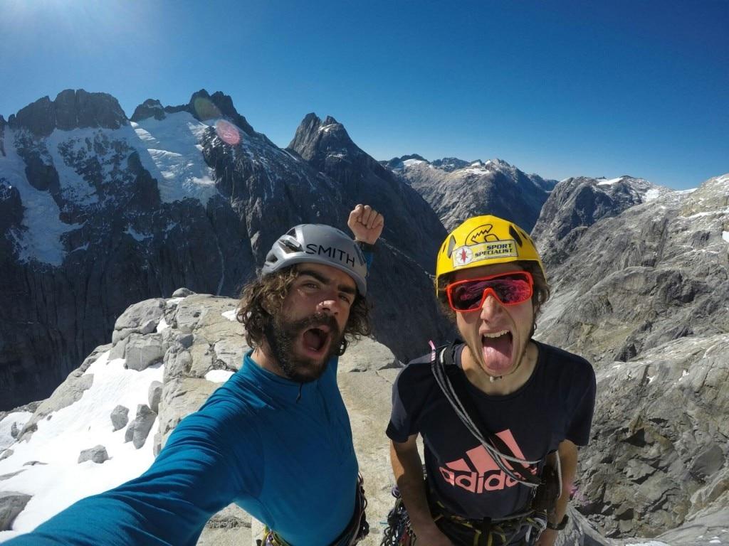 Photo of Patagonia: nuova via sul Cerro Mariposa per i Ragni Luca Schiera e Paolo Marazzi