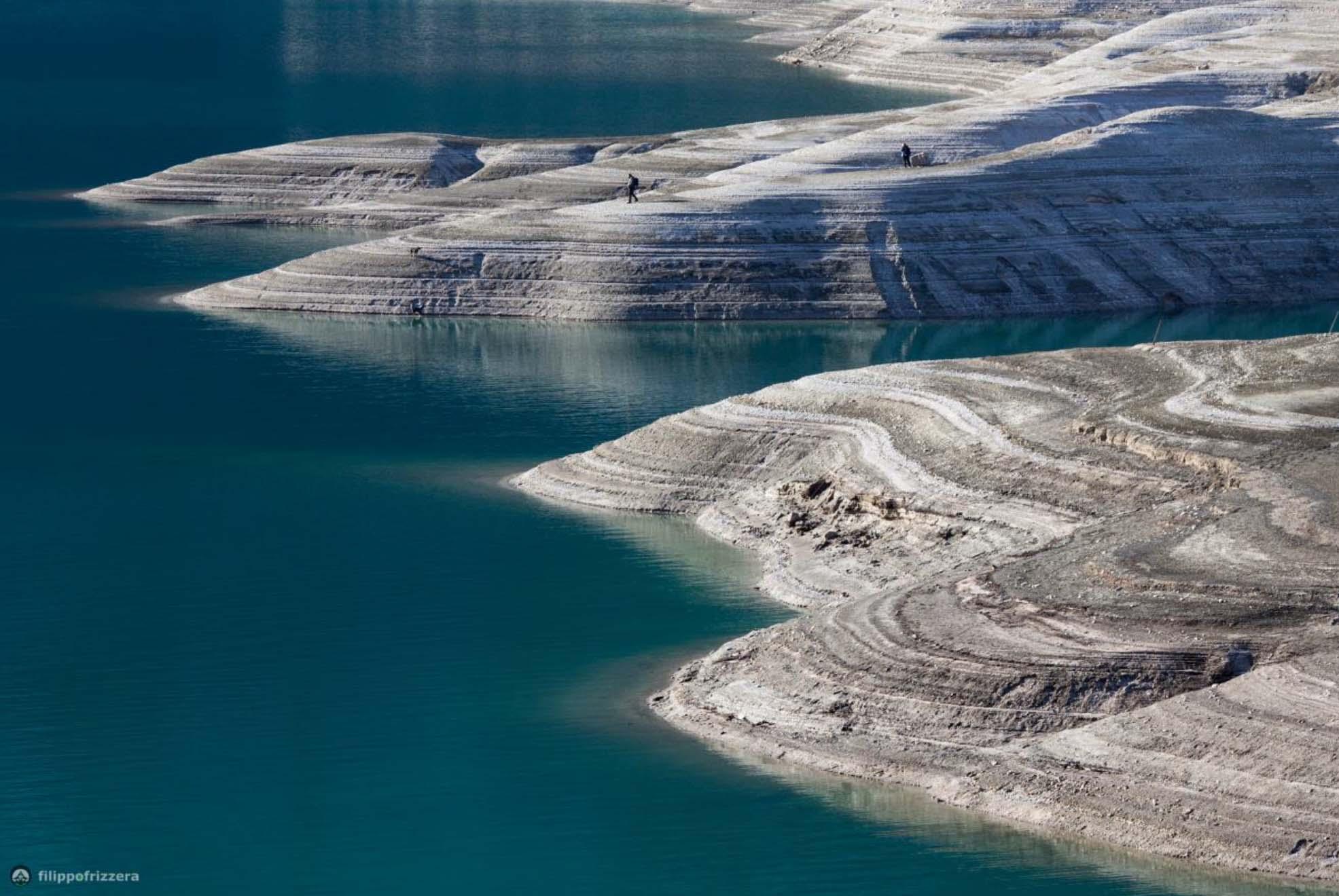 Photo of A Molveno, il lago si mette a nudo
