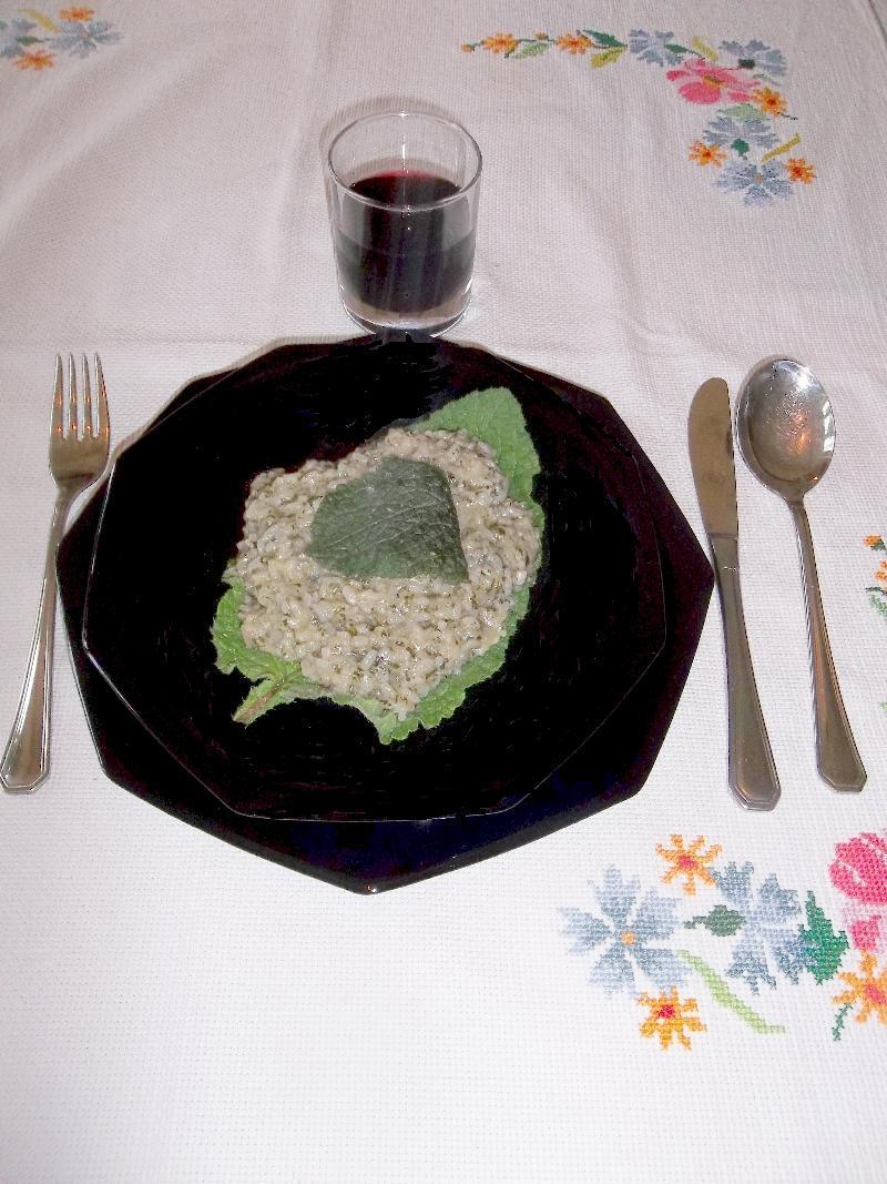Photo of Il Ricettario di Alta Cucina: il risotto alla borragine