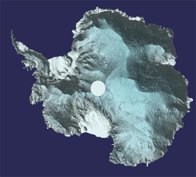 Photo of La mappa 3D dell'Antartide, a breve disponibile online
