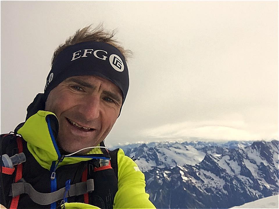 """Photo of Ueli Steck: """"Perché voglio provare questa traversata?"""""""
