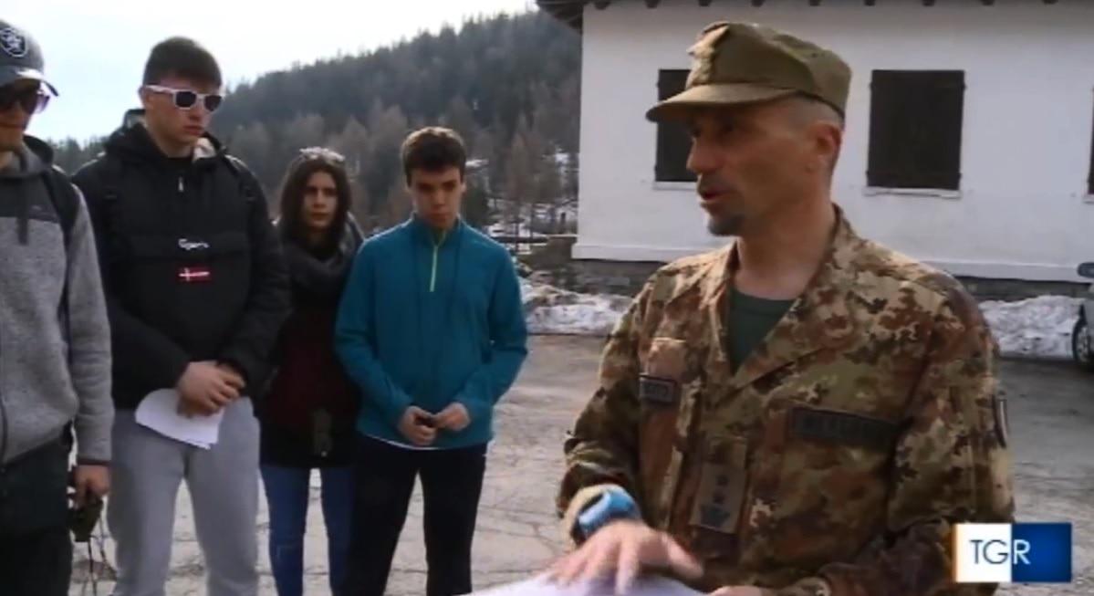 Photo of TGR, gli Alpini partecipano al progetto ONLUS per ragazzi con disagi sociali in Val d'Aosta