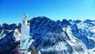 La Madonna della cima sud della Tête de Bresses (Alpi Marittime) - Foto di Sergio Macario