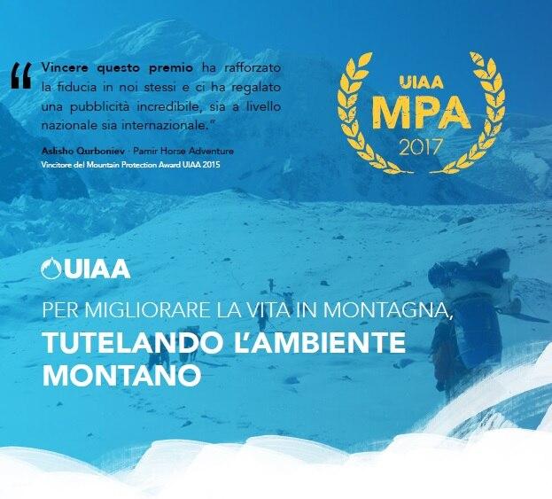 Photo of Mountain Protection Award: l'UIAA premia i progetti per lo sviluppo sostenibile montano