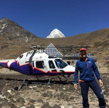 Photo of Simone Moro arriva in Nepal ed atterra in Piramide