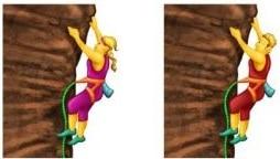 Photo of L'arrampicata arriva anche nelle Emoji