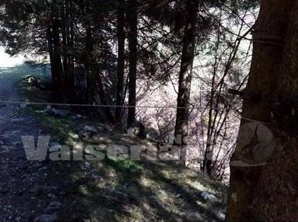 Photo of Cavo d'acciaio all'altezza del collo, allarme nei boschi in Val Seriana