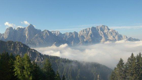 Photo of Tarvisio, due alpinisti muoiono sul Jof Fuart