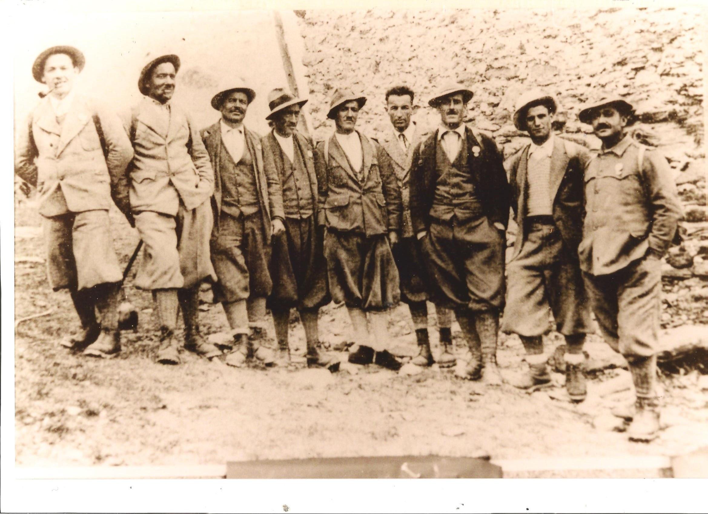 Photo of Quattro generazioni di guide alpine in Valmalenco