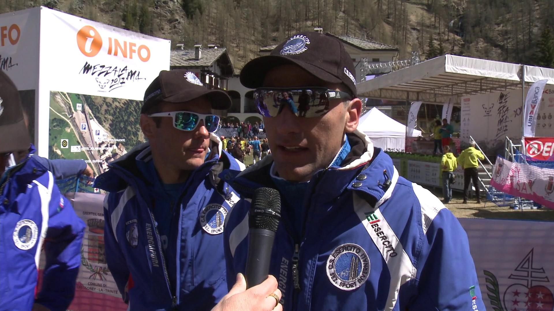 Photo of Le video interviste ai vincitori della XXI edizione del Trofeo Mezzalama