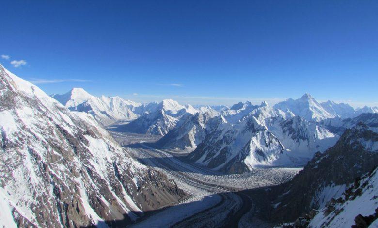 karakorum, sulle tracce dei ghiacciai