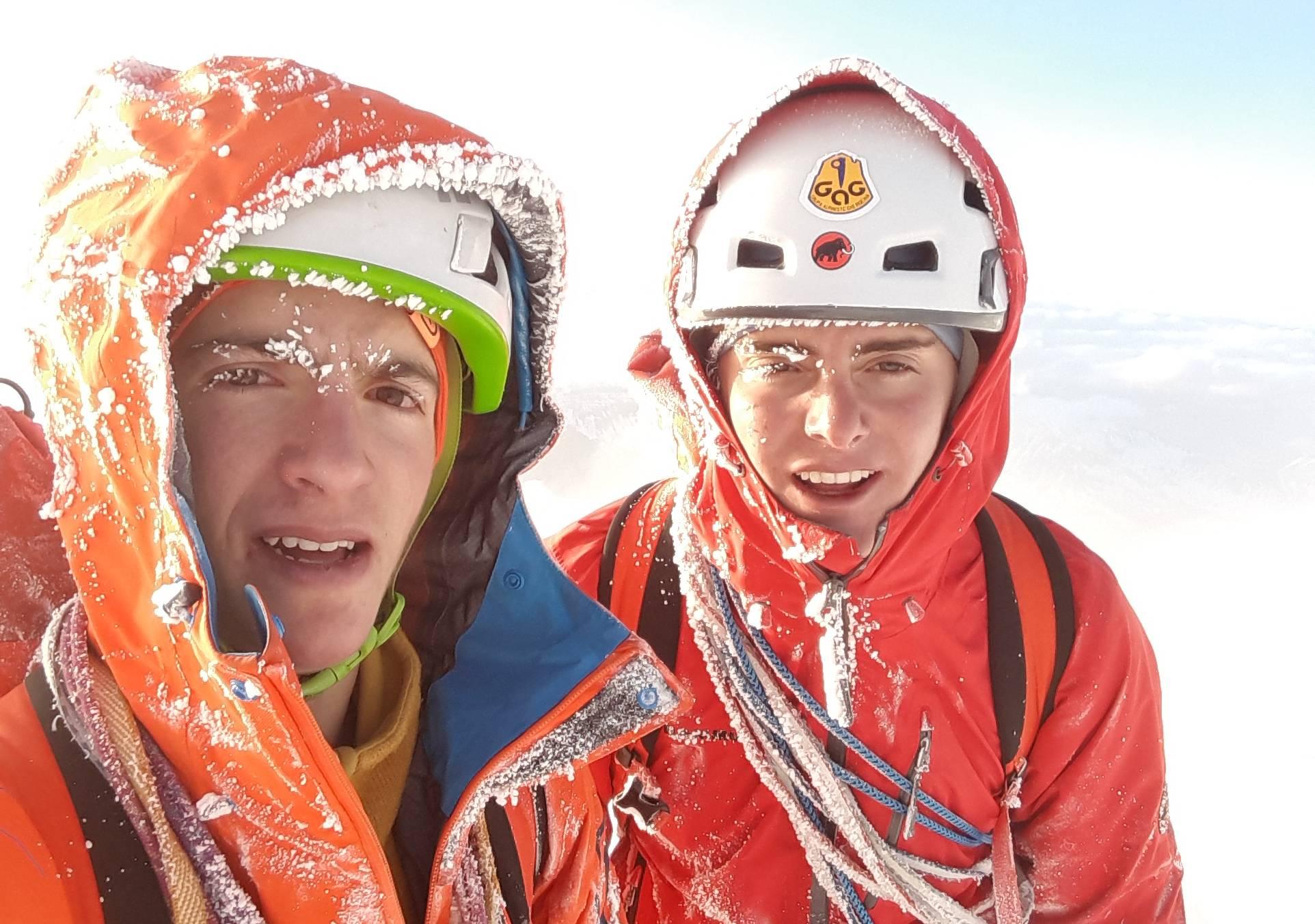 Photo of L'impresa dei 18enni Titus Prinoth e Janluca Kostner sulla nord dell'Eiger