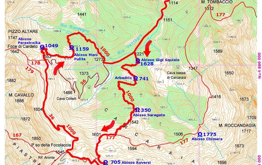 Photo of Il sentiero numero 1000 del CAI: un tracciato a tema speleologico