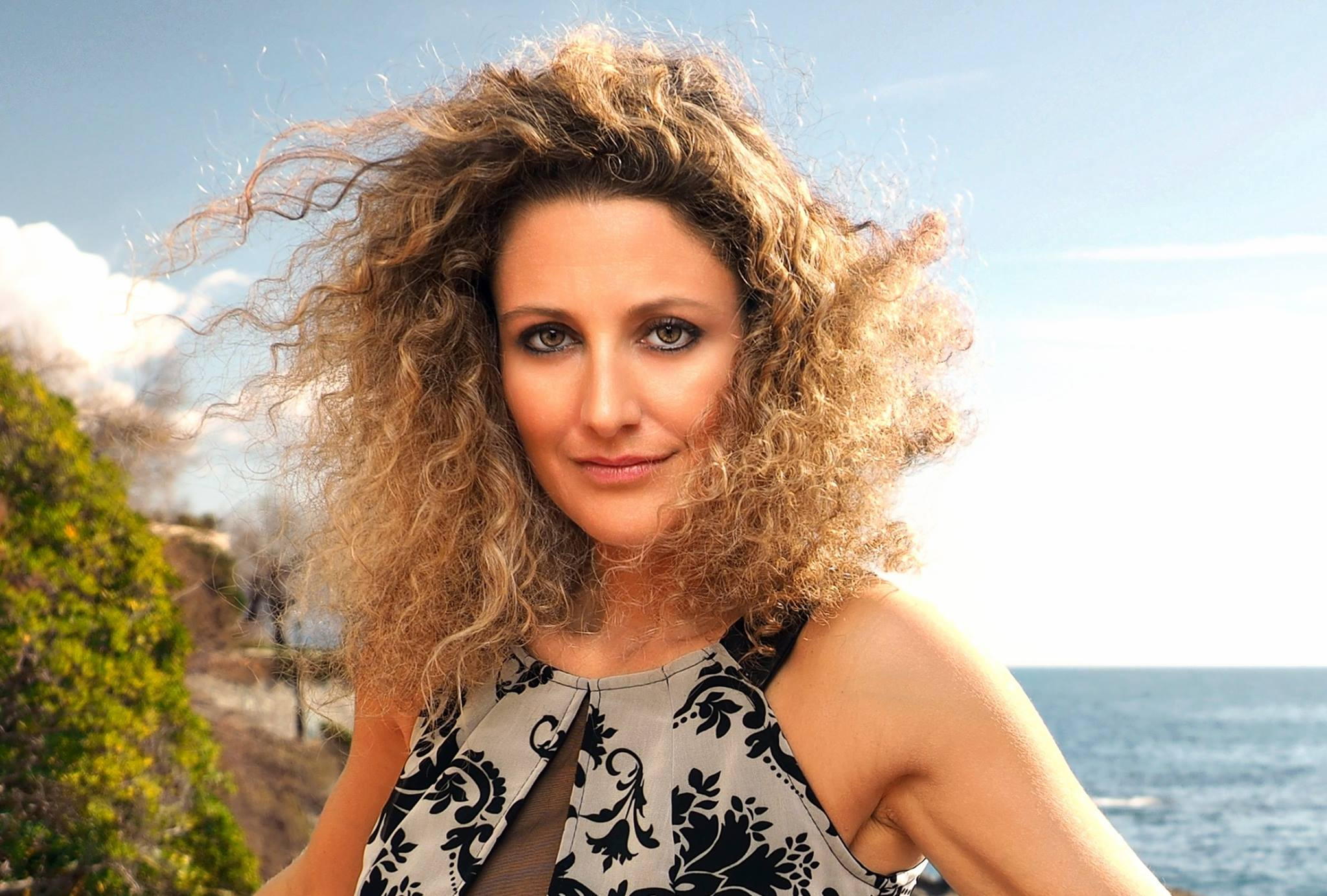 Photo of Elisa Tomellini in concerto a Punta Helbronner e sul ghiacciaio del Colle Gnifetti
