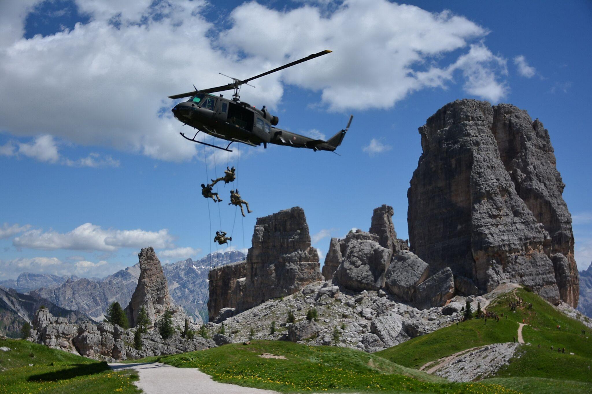 Photo of Le Truppe Alpine dell'Esercito sbarcano nel cuore delle Dolomiti