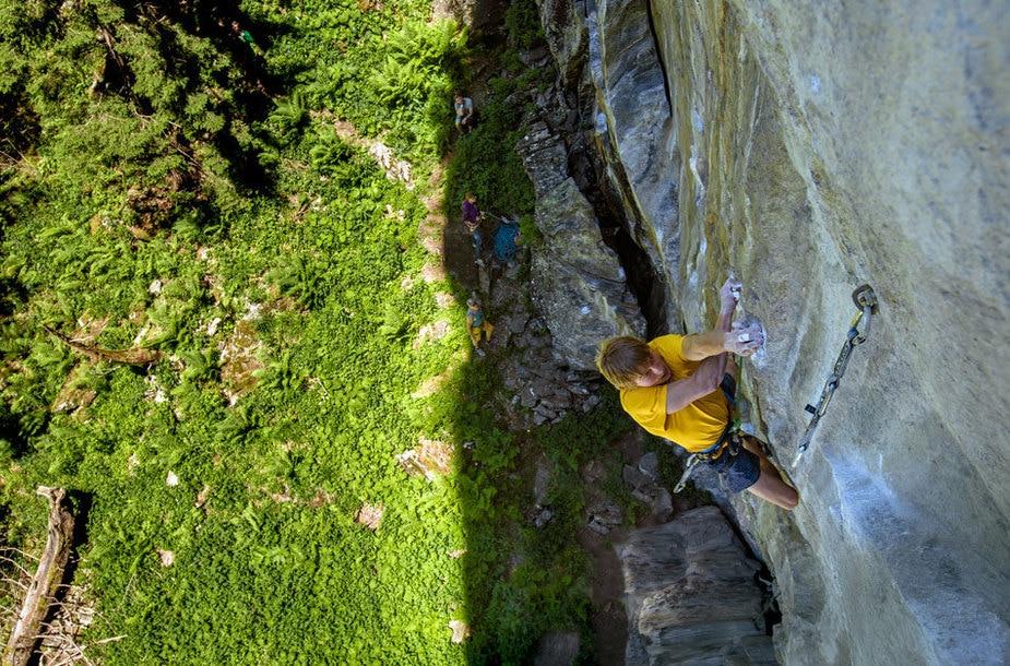 """Photo of Alex Megos in Zillertal: prima ripetizione di """"Companion of Change"""" (9a+)"""