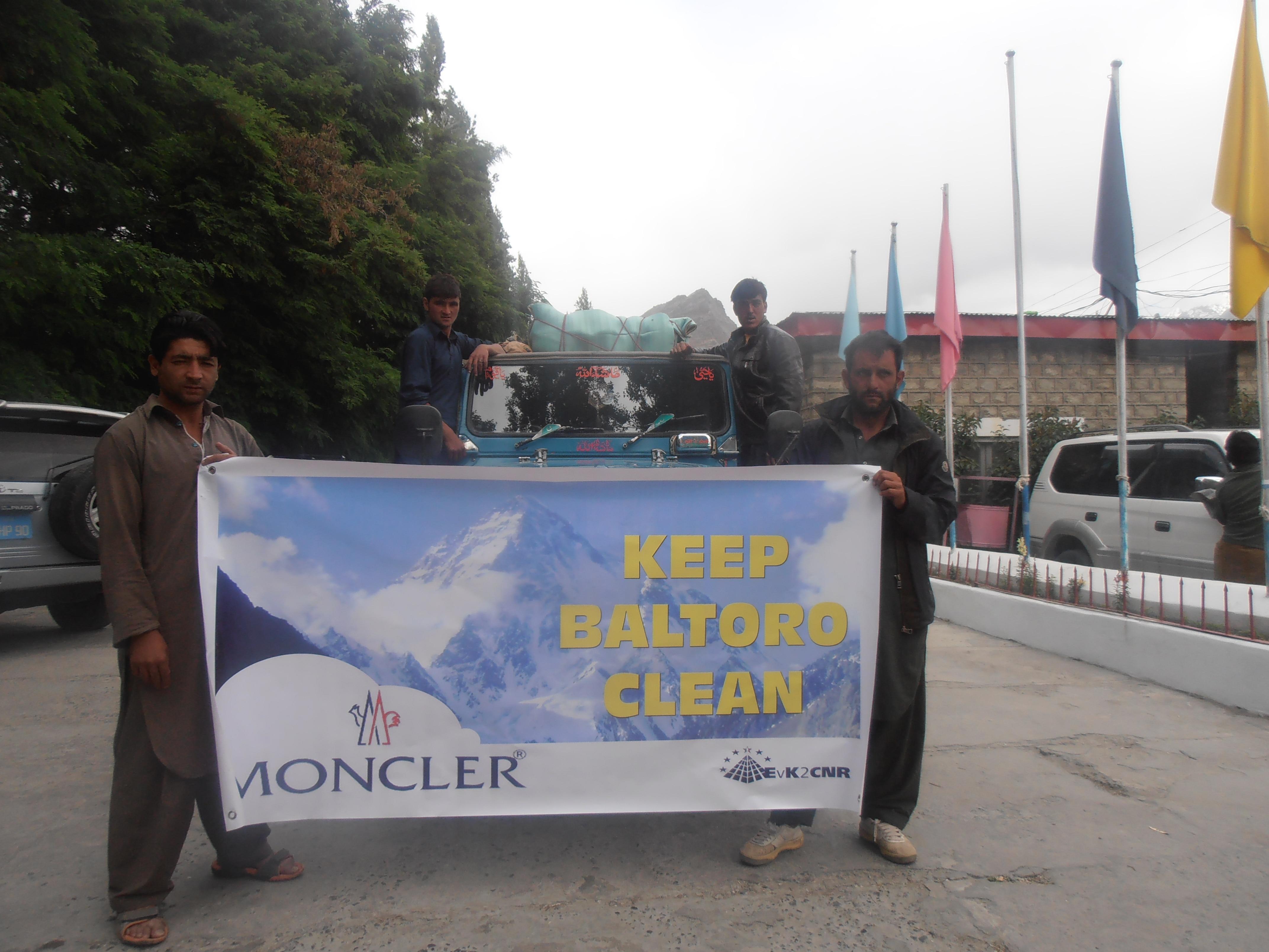 Photo of Baltoro Glacier Cleanup Kick Started