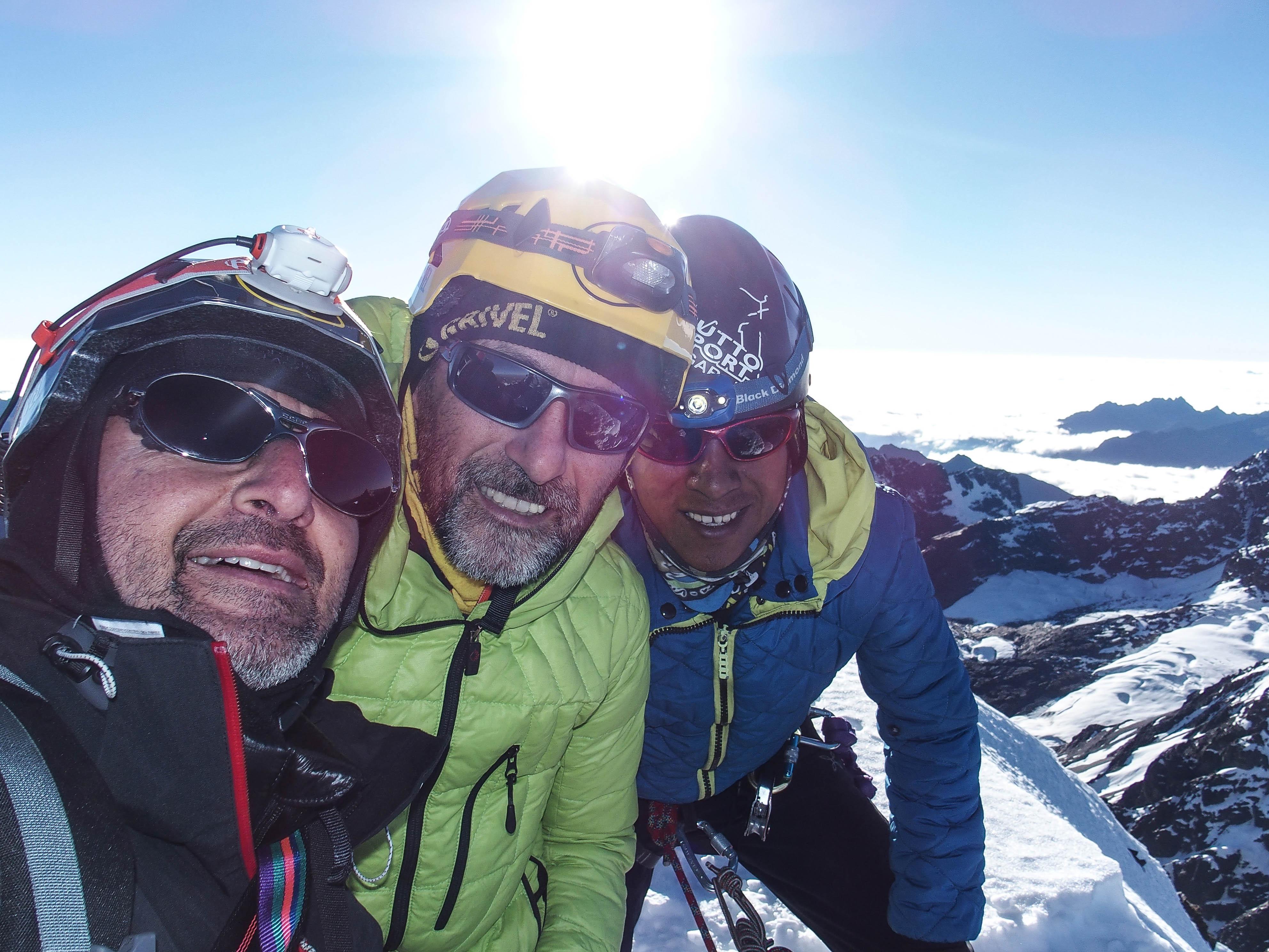 Photo of Nuova via tutta italiana nella Cordillera di Quimsa Cruz in Bolivia