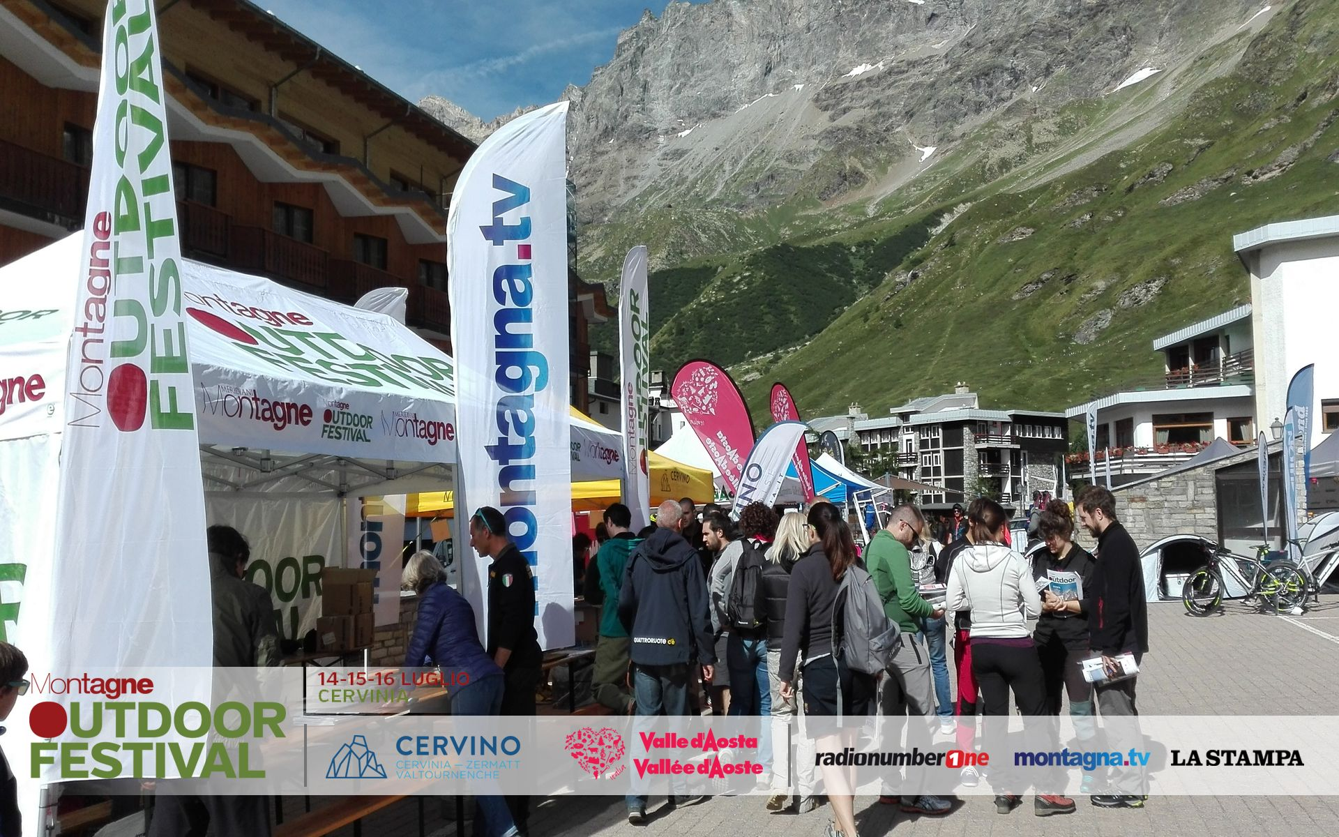 Photo of Successo per l'Outdoor Festival del Cervino