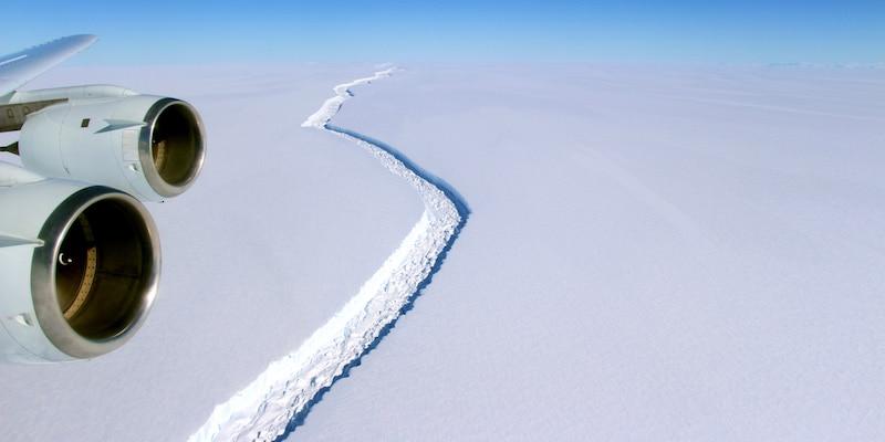 Photo of Larsen-C, il super iceberg si stacca dall'Antartide