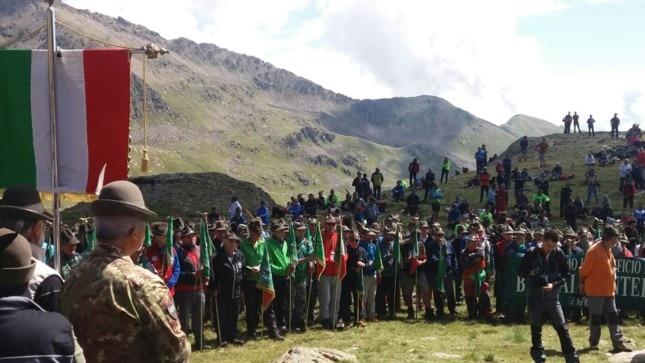 Photo of Il pellegrinaggio degli alpini sull'Adamello