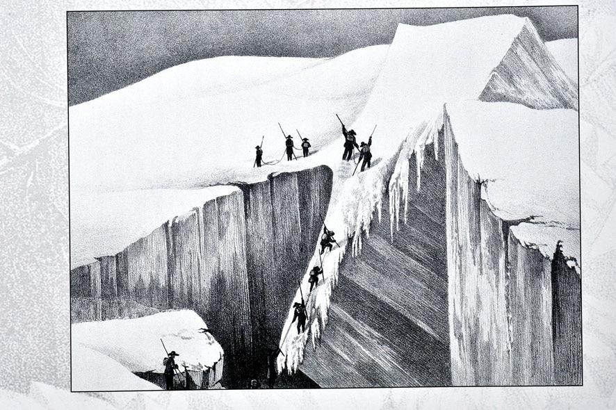 Photo of 8 agosto 1786: per la prima volta in cima al Monte Bianco