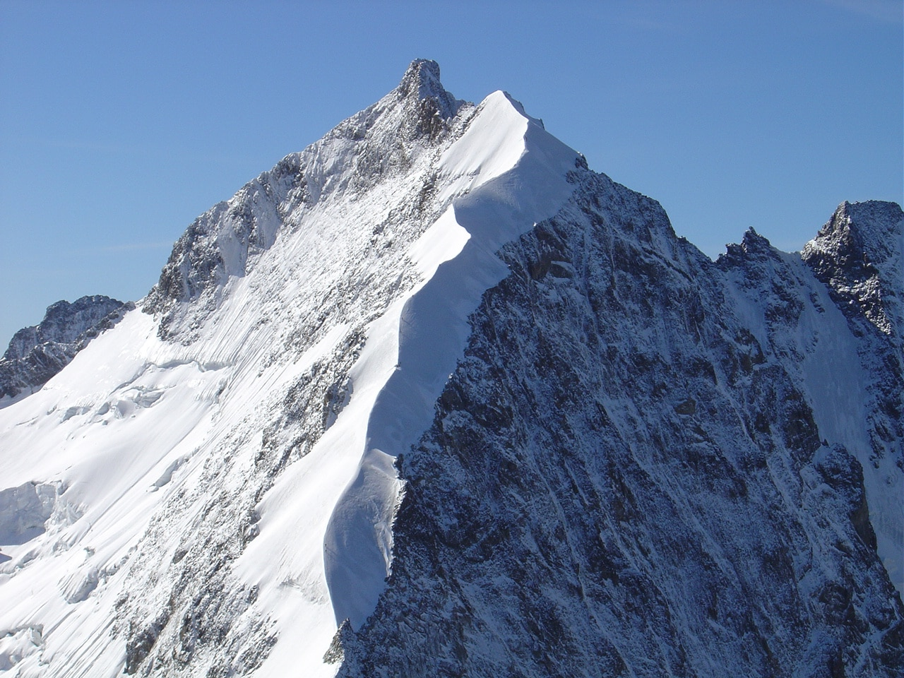 Photo of Alpinista muore cadendo dalla Biancograt sul Bernina