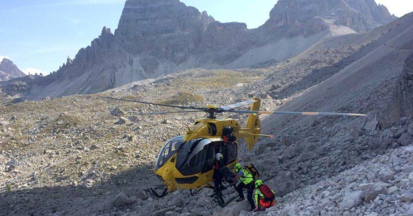 elicottero soccorso alpino
