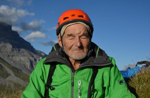 Photo of Marcel Remy, a 94 anni di nuovo su le Miroir d'Argentine in Svizzera