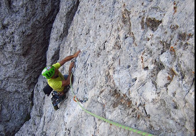 """Photo of """"Mauro delle montagne"""" una nuova via sul Torrione Cecilia in Grignetta"""