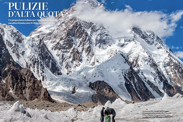 Photo of National Geographic racconta le campagne di pulizia del Baltoro