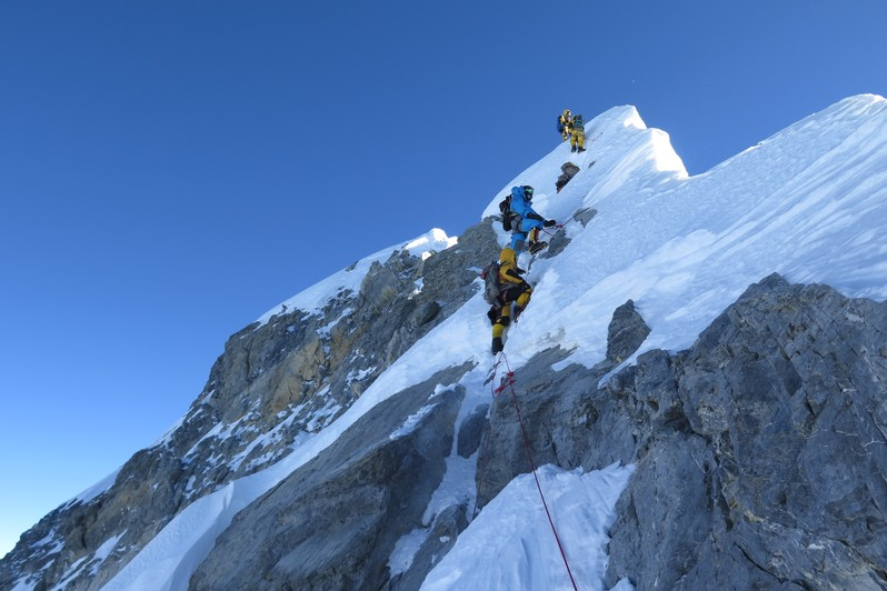 Photo of Gli italiani all'Everest: i numeri