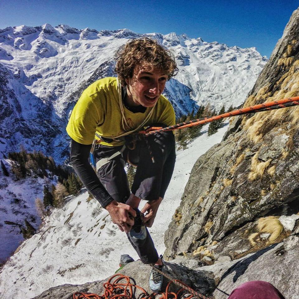 Photo of Luca Schiera, giovane conferma dell'alpinismo