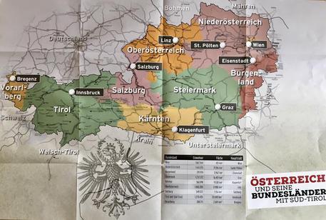 """Photo of Nuova provocazione: nel """"diario scolastico tirolese"""" l'Alto Adige è parte dell'Austria"""