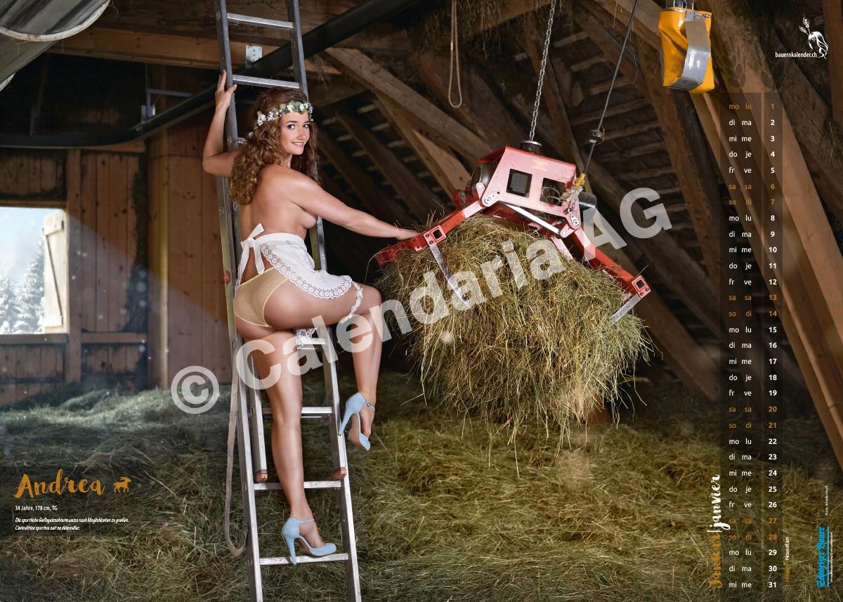 Photo of E' tempo del calendario 2018 delle sexy contadine svizzere