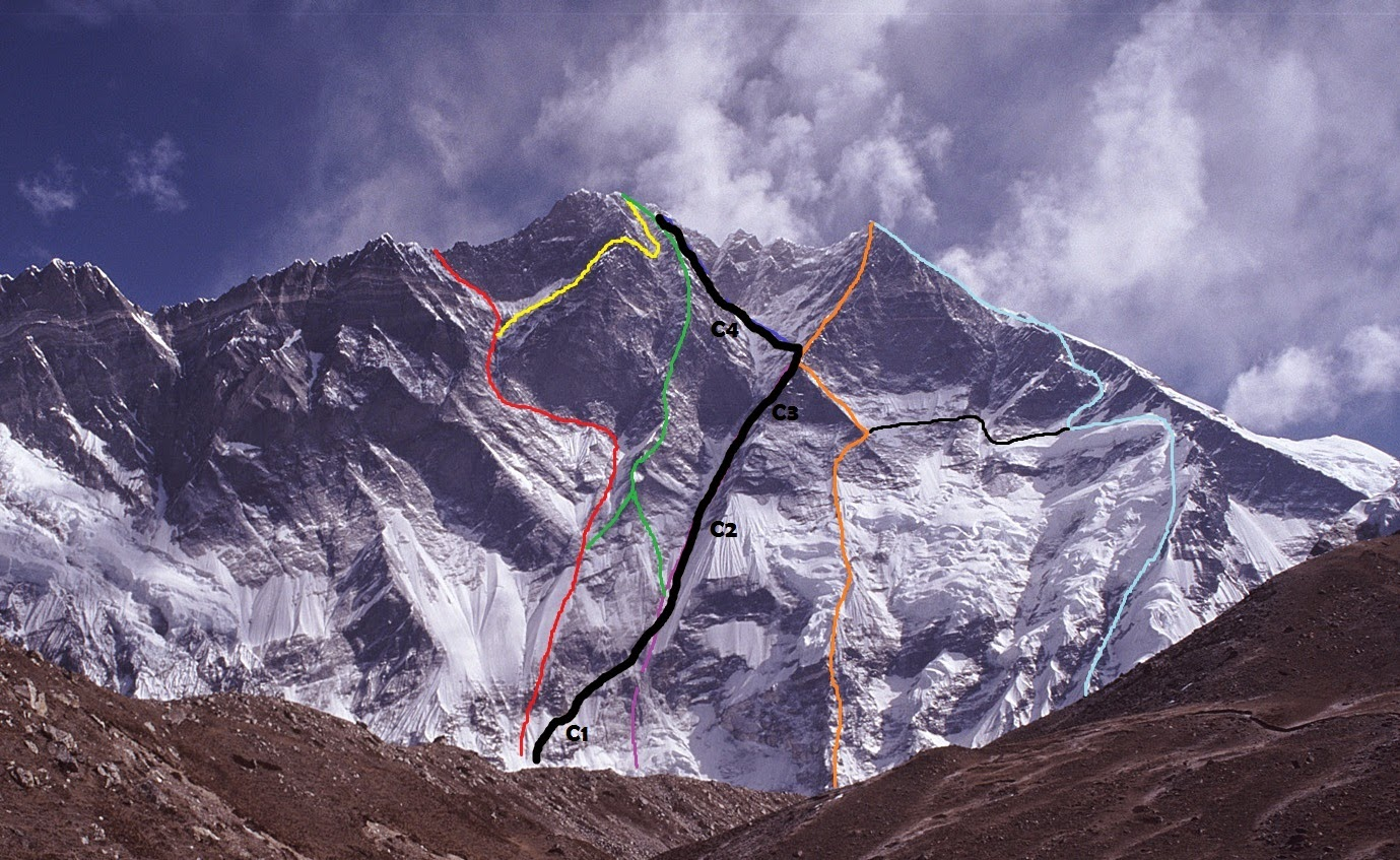 Photo of Lhotse parete sud, il sudcoreano Sung Taek Hong ci riprova per la quinta volta