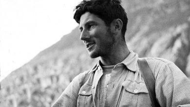 Photo of Walter Bonatti. Con i muscoli, con il cuore, con la testa