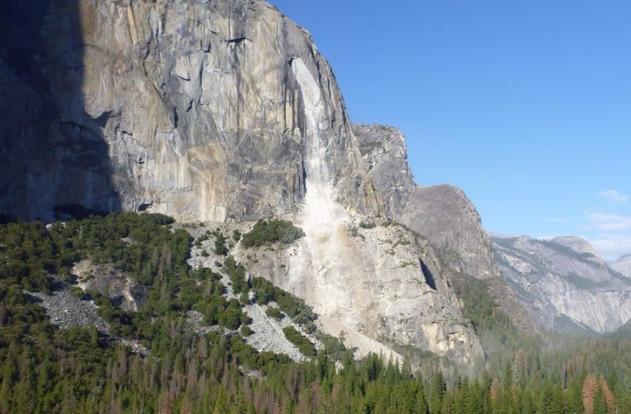 Photo of El Capitan continua a perdere pezzi: ieri una nuova frana – Guarda le foto