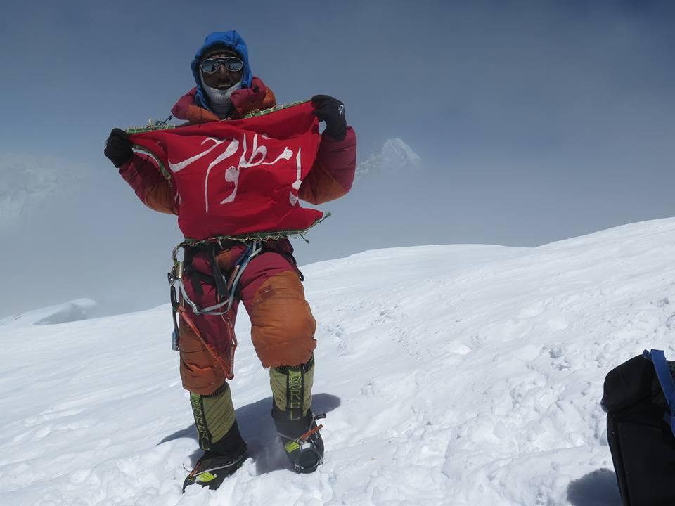 Photo of Ali Sadpara di nuovo in vetta al Nanga Parbat