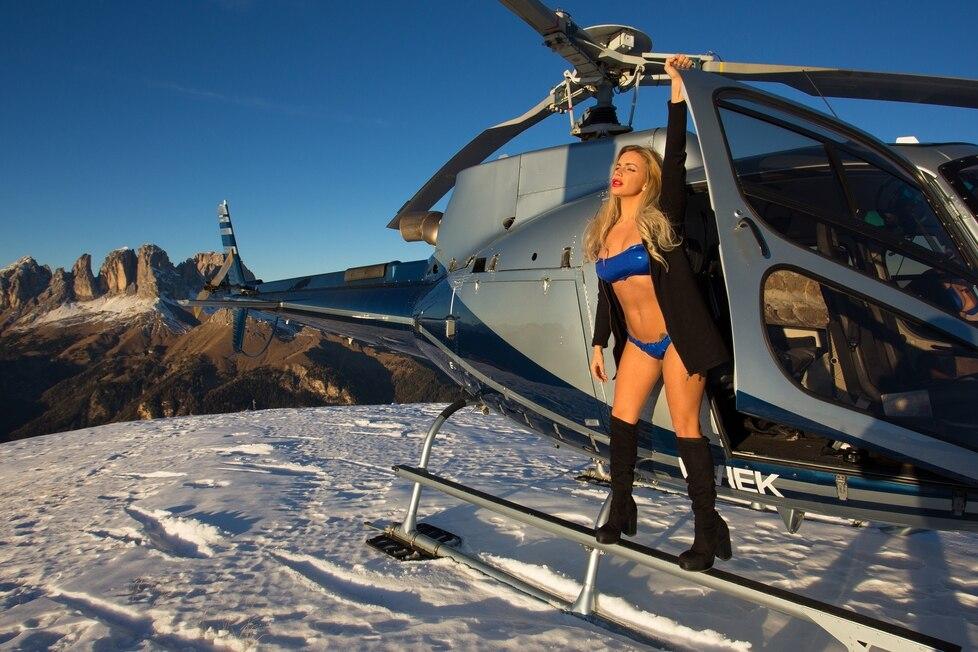 Photo of La SAT contro le pubblicità con Champagne e modelle in montagna
